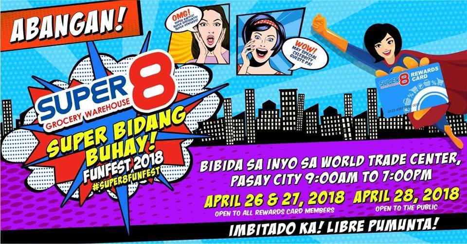 SUPER8 SUPER BIDANG BUHAY! FUNFEST 2018