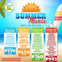 MANILA OCEAN PARK SUMMER PROMO: MARCH TO MAY 2018