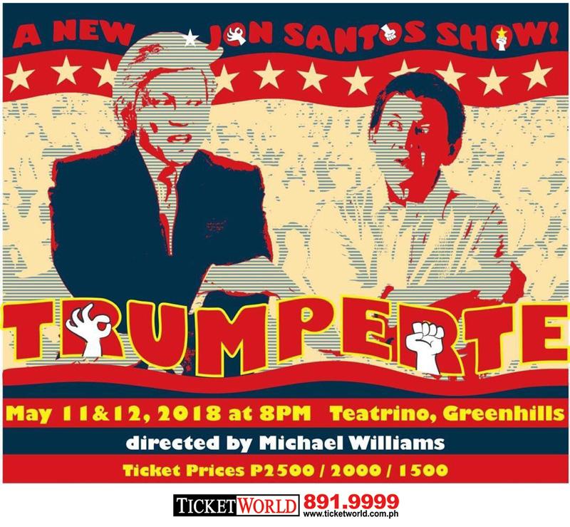 A New Jon Santos Show! TRUMPERTE