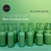 Powers of Speech by Marc Escalona Gaba
