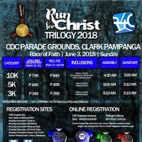 Run for Christ Trilogy Leg 1 in Clark, Pampanga