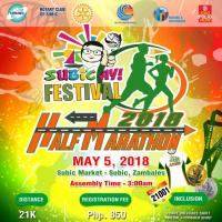 Subic Ay! Half Marathon 2018