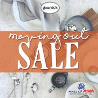 GOURDO'S SM MOA MOVING OUT SALE: APR 2018