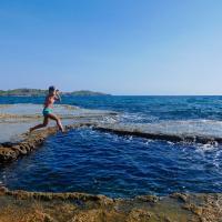 Death Pool, Cabongaoan Beach, Colibra Island In Burgos Pangasinan