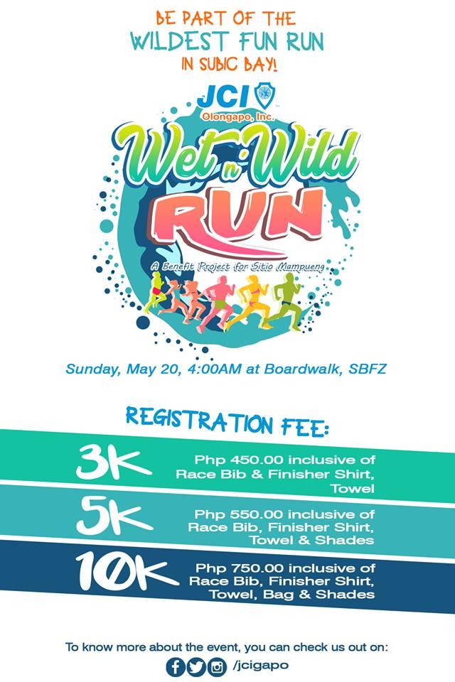 JCI's Wet & Wild Run 2018
