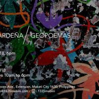 1335mabini/ Kristoffer Ardeña: Geopoemas