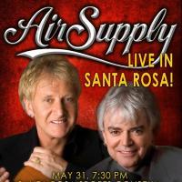 Air Supply Live in Santa Rosa