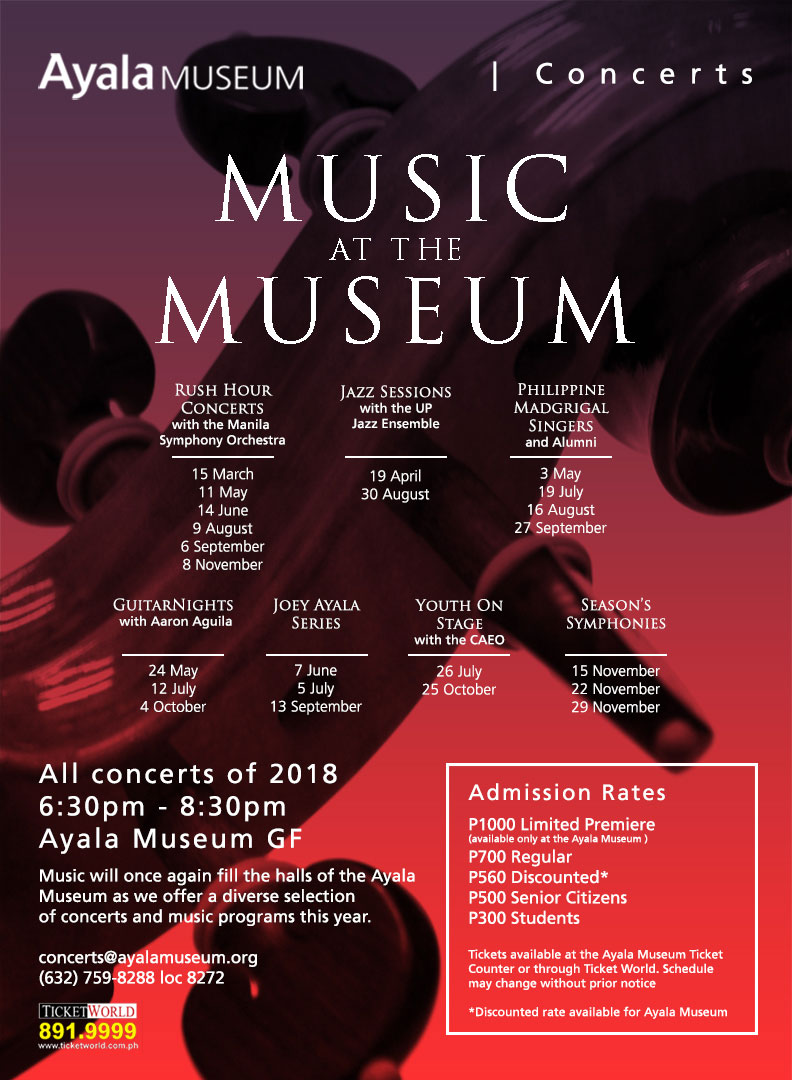 MUSIC at the MUSEUM 2018 : Philippine Madrigal Singers