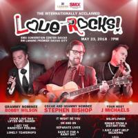 LOVE ROCKS with STEPHEN BISHOP Live at SMX DAVAO