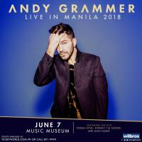 ANDY GRAMMER - Live in Manila 2018