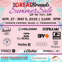 The Great Brands Summer Sale 2018