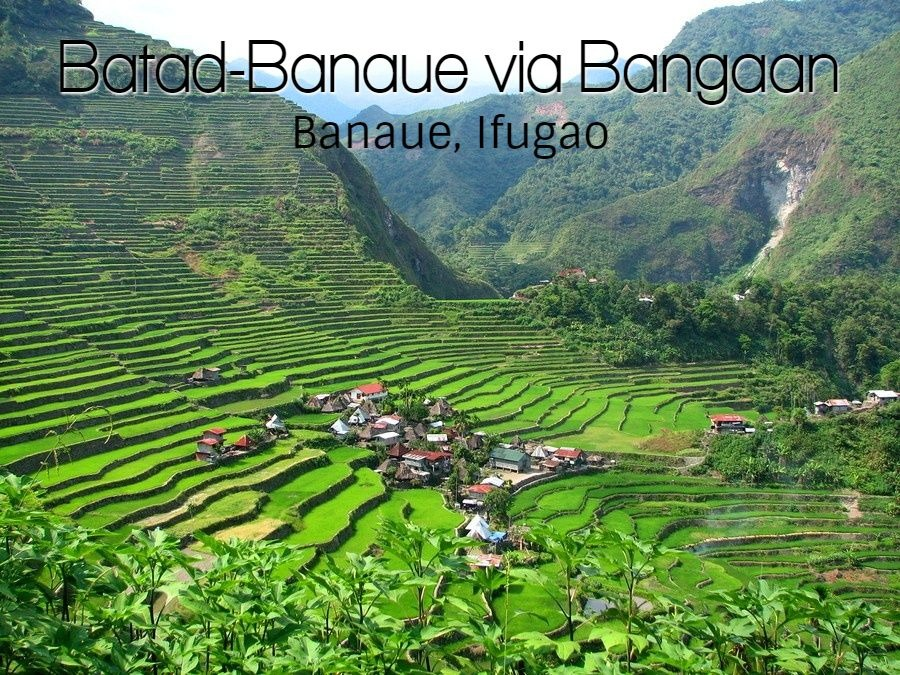 BATAD-BANAUE VIA BANGAAN