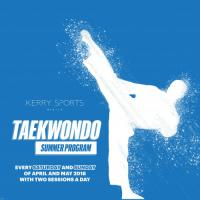 KERRY FITNESS FOR KIDS: TAEKWONDO SUMMER PROGRAM