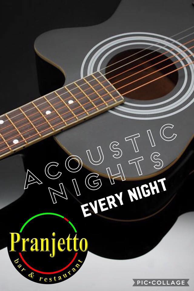ACOUSTIC NIGHT AT PRANJETTO BAR AND GRILL ANTIPOLO