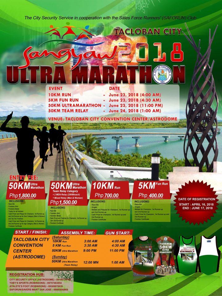 Sangyaw 2018 Ultramarathon and Fun Run