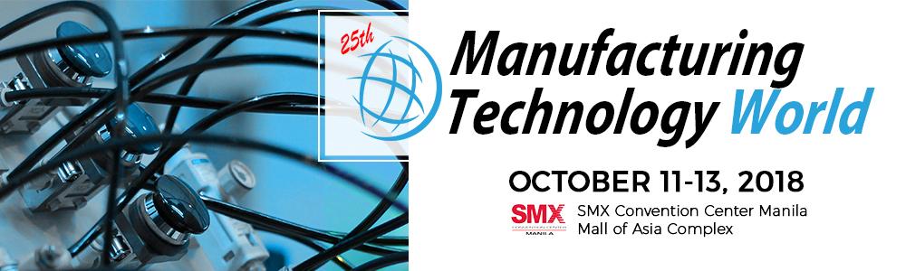 Manufacturing Technology World Manila 2018