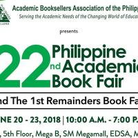 22ND PHILIPPINE ACADEMIC BOOK FAIR