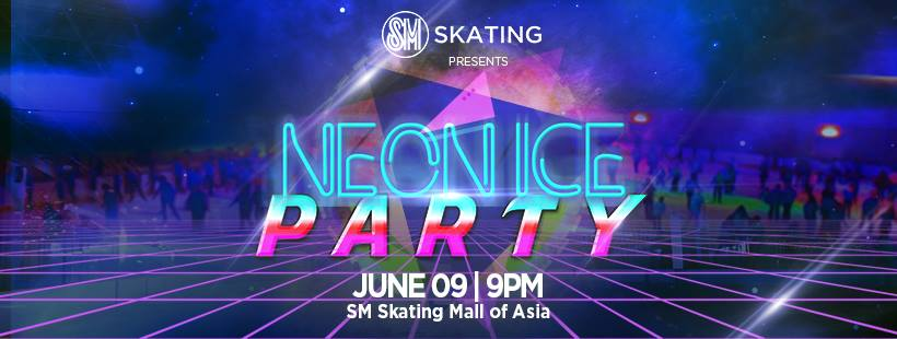 SM SKATING'S NEON ICE PARTY