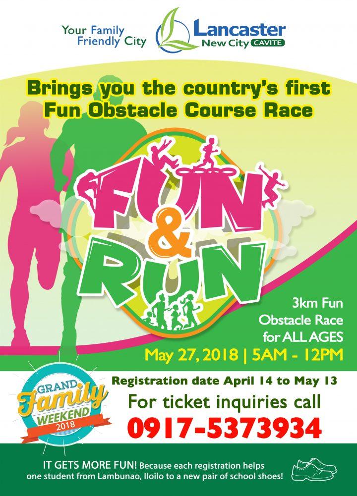 how to organize fun run event