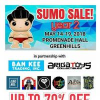 BIG BOYS TOYS STORE SUMO SALE: MAY 2018