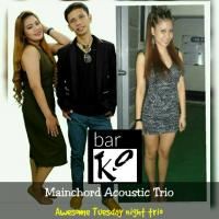 MAINCHORD ACOUSTIC BAND AT ACOUSTIKA BAND AT BAR K.O.