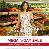 SM MEGAMALL 3-DAY SALE: MAY 2018