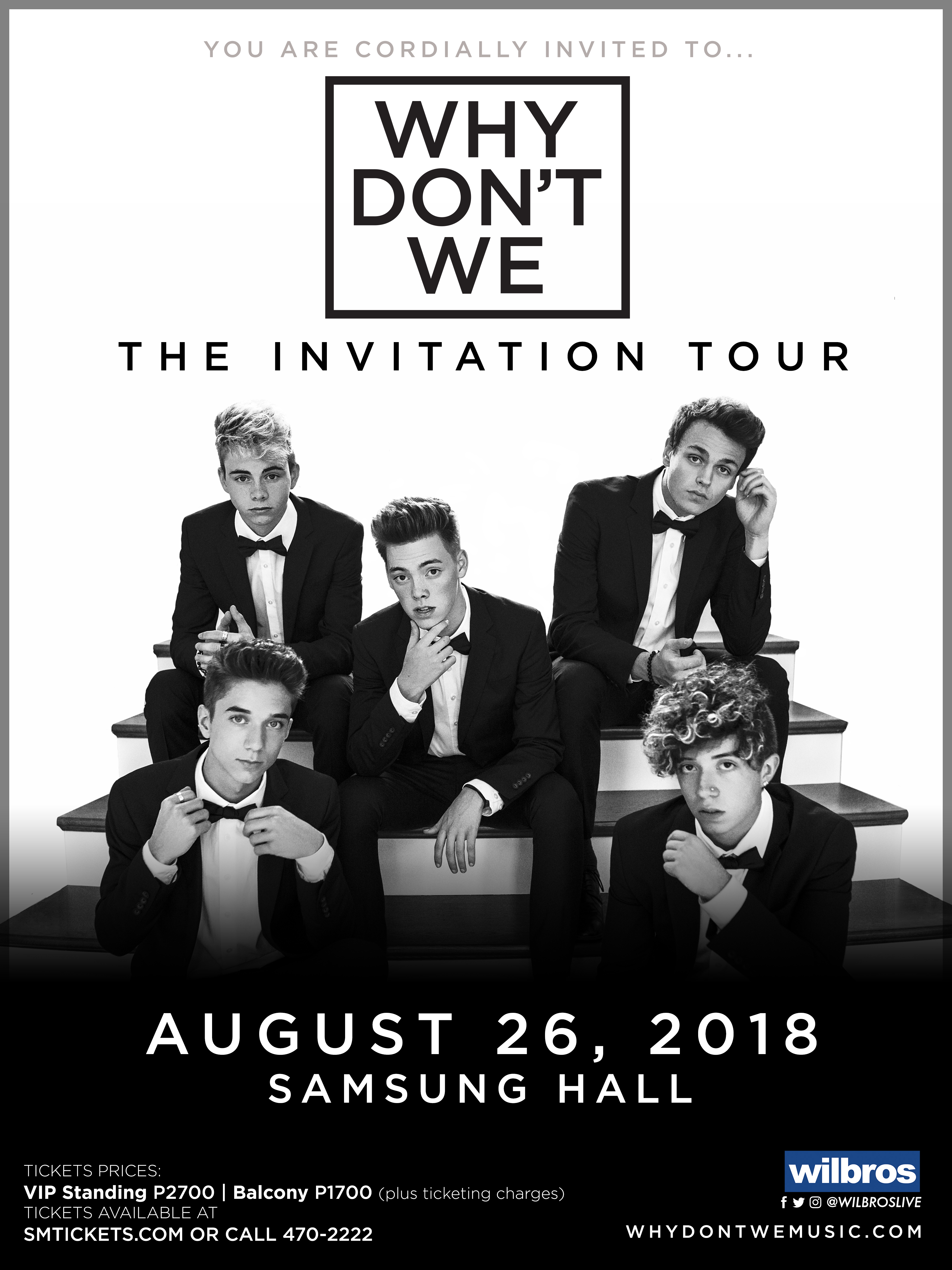 Why Don't We - The Invitation Tour