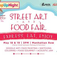 Street Art and Food Fair at Manhattan Row