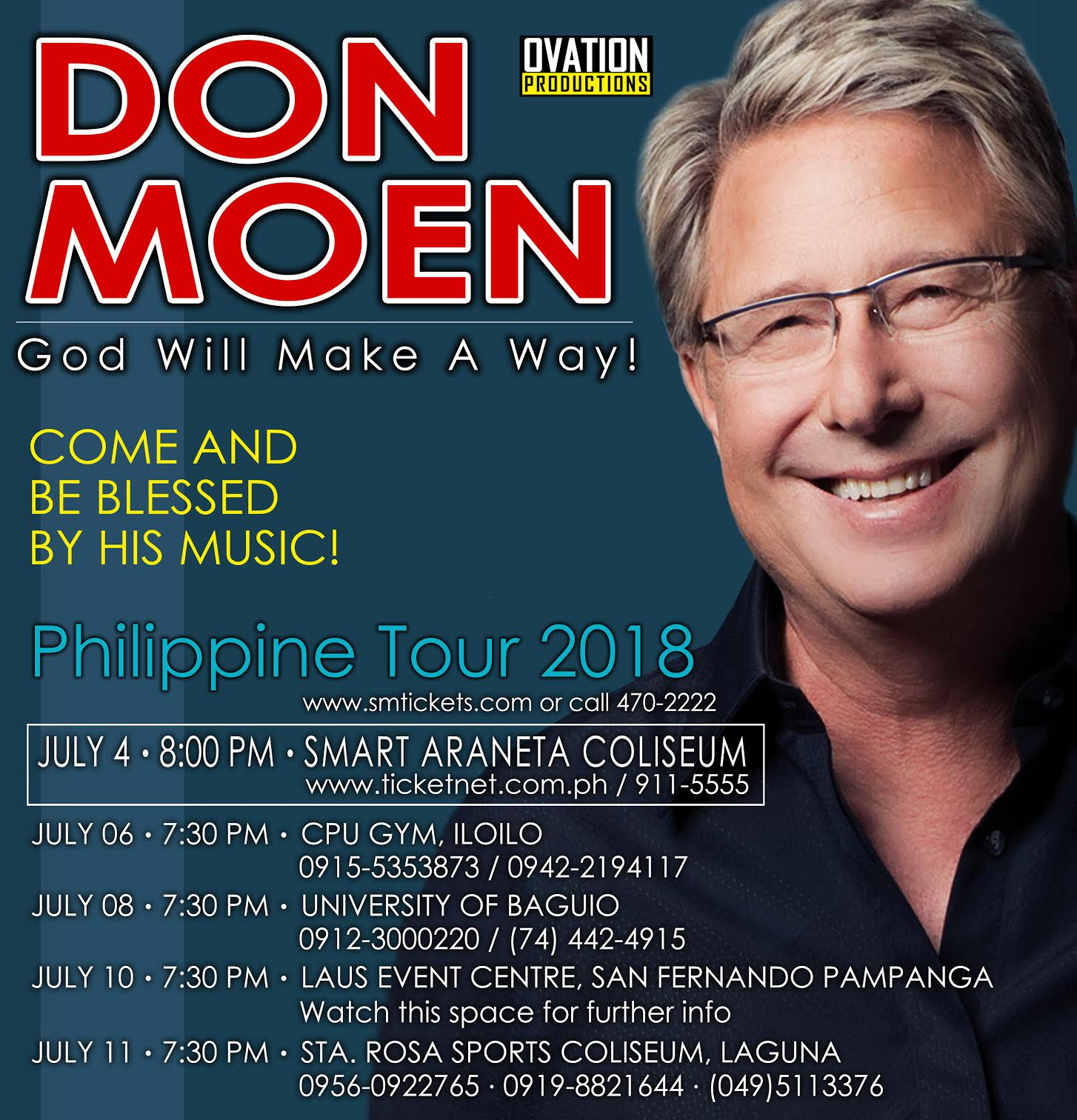 Don Moen Philippine Tour 2018 Live in Laguna