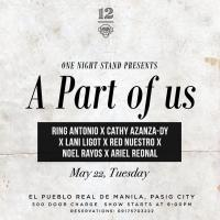 ONE NIGHT STAND PRESENTS A PART OF US AT 12 MONKEYS MUSIC HALL & PUB