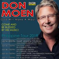 Don Moen Philippine Tour 2018 Live in Manila