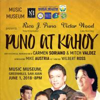 PUNO at KAHOY Rico J. Puno and Victor Wood