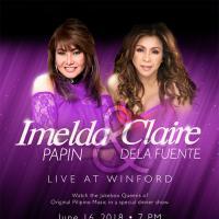 Imelda Papin & Claire de la Fuente Live at Winford (Dinner Show)
