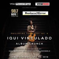 Philippine Treasures vol. 4  IQUI VINCULADO Album Launch