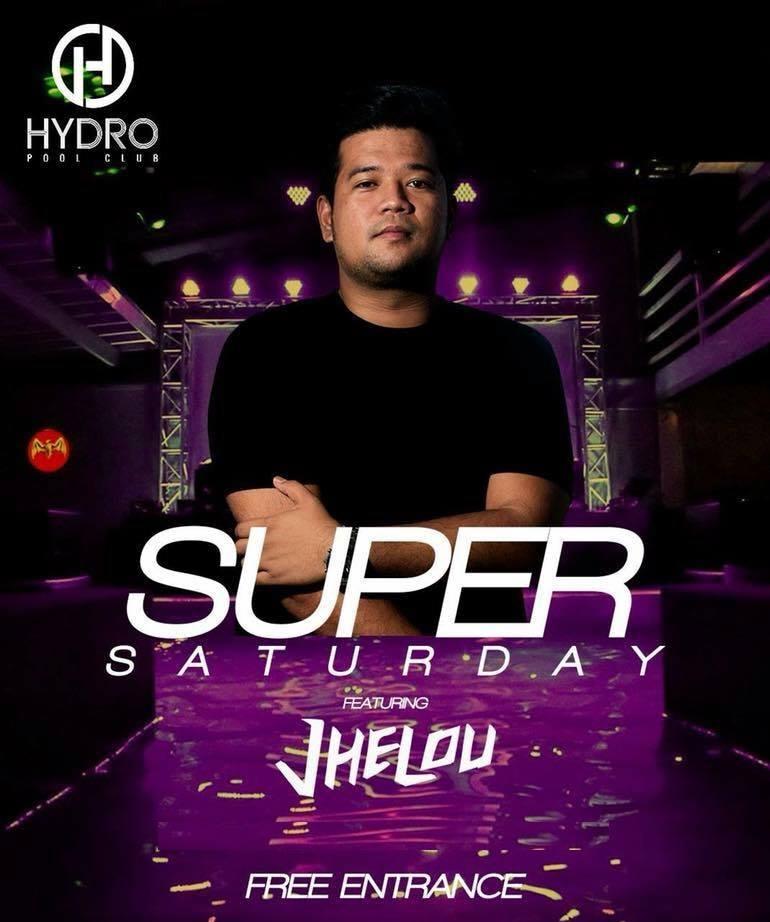 SUPER SATURDAY AT HYDRO POOL CLUB