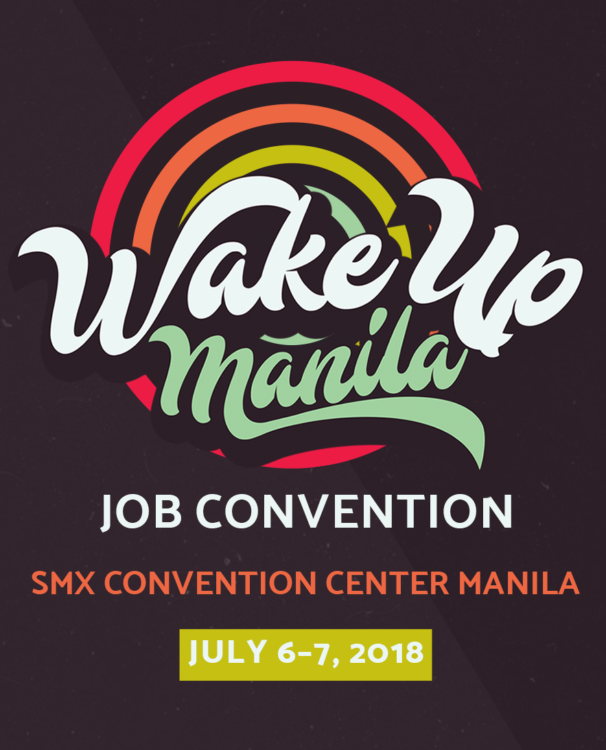 Wake Up Manila Job Convention