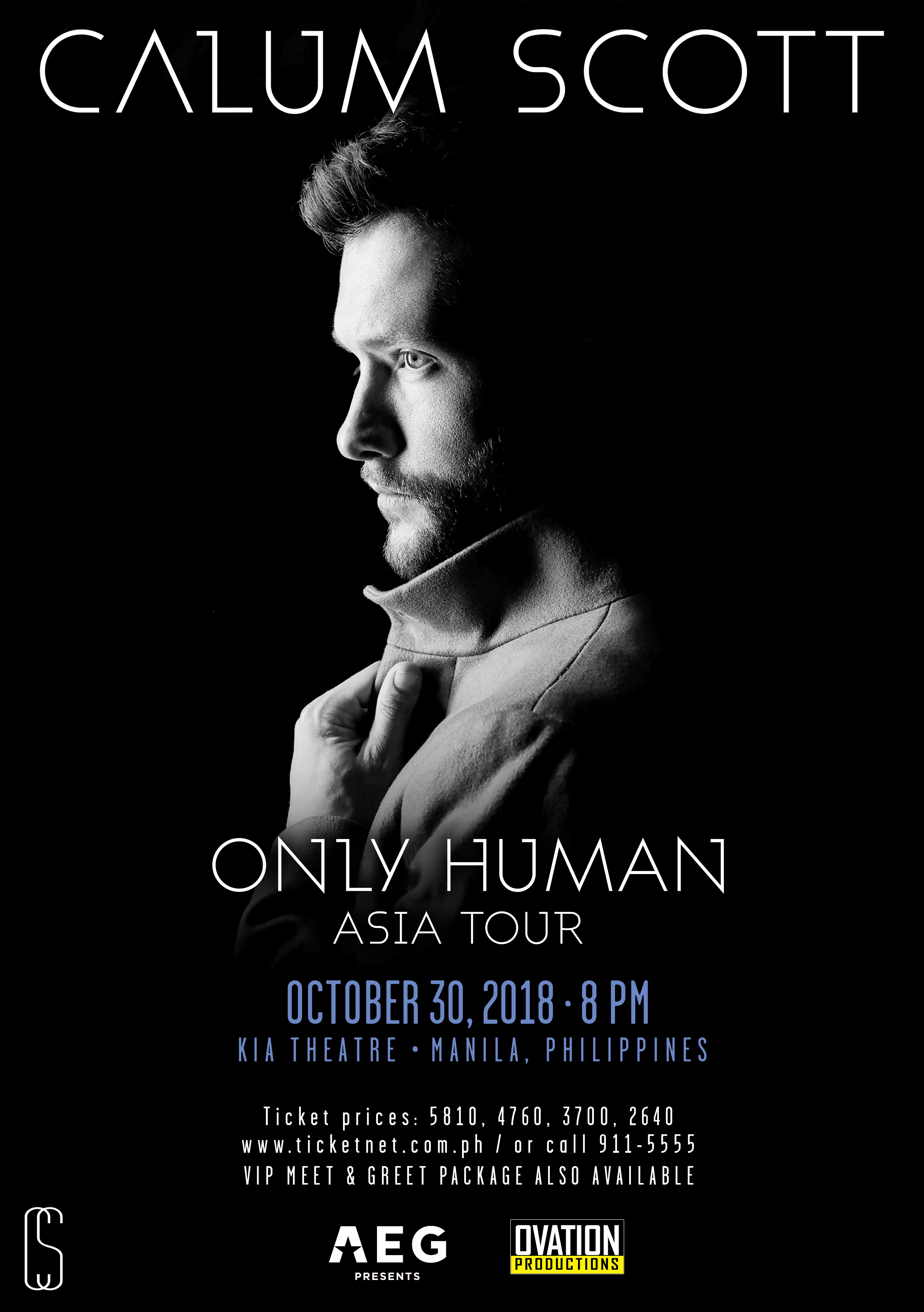 CALUM SCOTT's Only Human Asia Tour