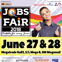 Job Fair 2018 Trabaho For Every Juan at Megatrade Hall 3