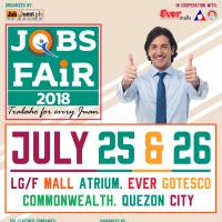Job Fair 2018 Trabaho For Every Juan at Ever Gotesco Commonwealth