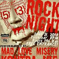 MARCH OF THE PENGUINS 53 PRESENTS: ROCK NIGHT AT ROUTE 196 BAR
