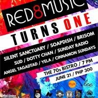 RED8MUSIC TURNS ONE AT THE 70'S BISTRO