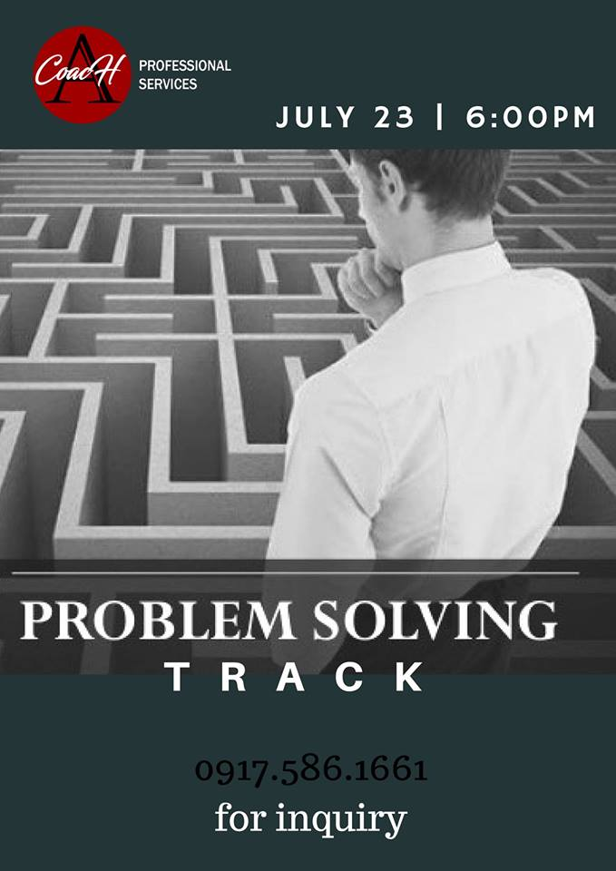 Life Coaching Class: Problem Solving Track