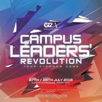 G12 Philippines Campus Leaders' Revolution 2018
