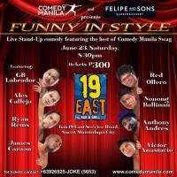 COMEDY MANILA AT 19 EAST