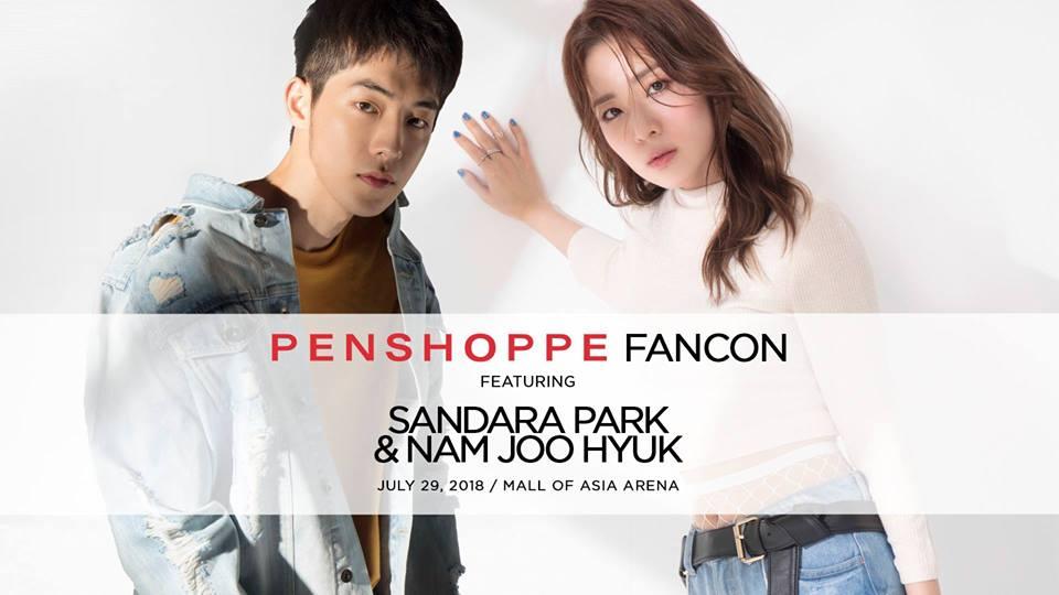 Penshoppe FanCon Featuring Sandara Park and Nam Joo Hyuk