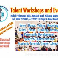 Voice, Acting, Guitar, Piano, Drawing, Hosting and Speech Workshops