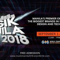 Musik Manila - Pro Audio, Video, Lighting Expo / Line Array Demo