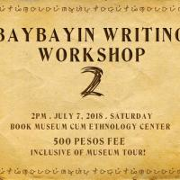 Batch 2: Baybayin Writing Workshop for Beginners