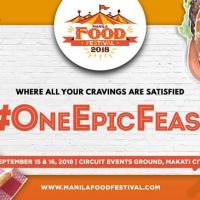 Manila Food Festival 2018