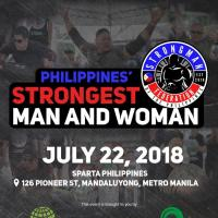 Philippines' Strongest Man and Woman 2018